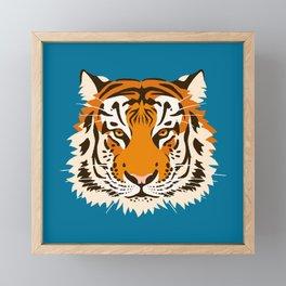 Panthera tigris tigris Framed Mini Art Print