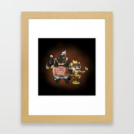 Roadhog & Junkrat Framed Art Print