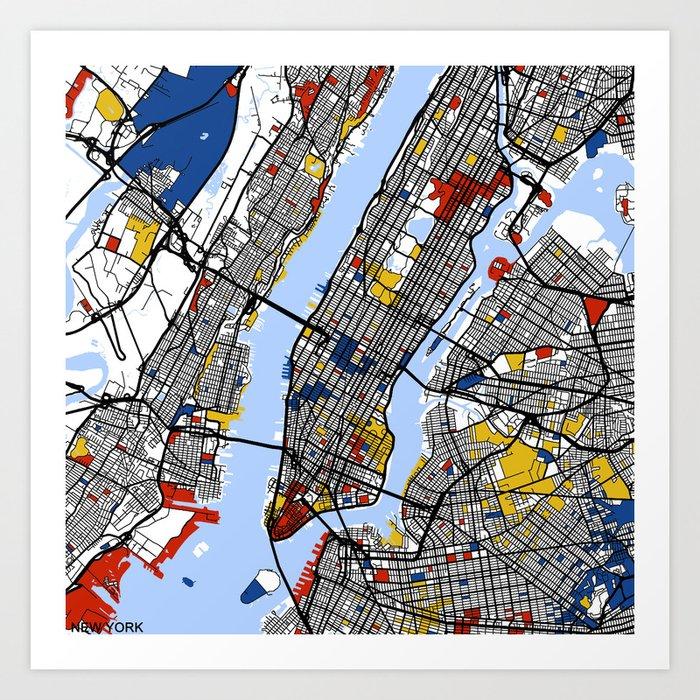 New York Kunstdrucke