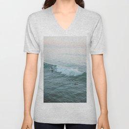 lets surf v Unisex V-Neck