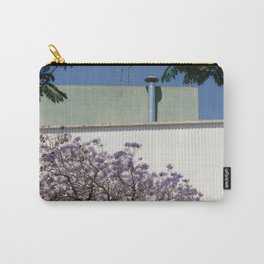 Jacaranda, Lisbon street Carry-All Pouch
