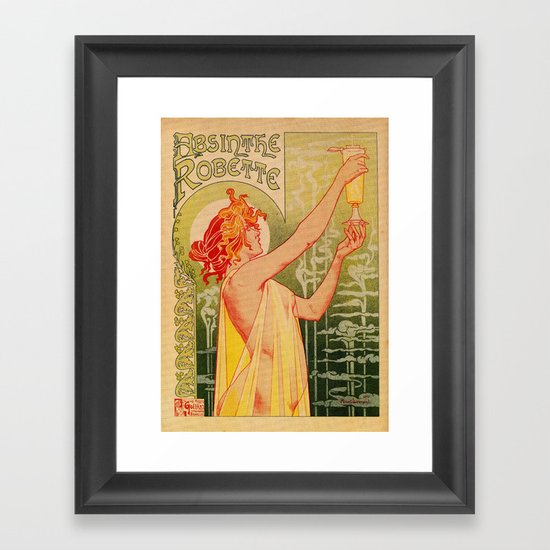 Classic French art nouveau Absinthe Robette by aapshop