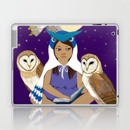 Owl Girl Laptop & iPad Skin