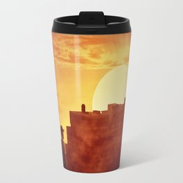 sunset mystery Travel Mug