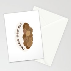 Tribble sleeping Stationery Cards