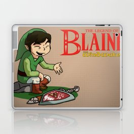 The Legend of Blaine Laptop & iPad Skin