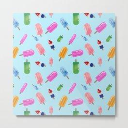 Popsicle Party Metal Print
