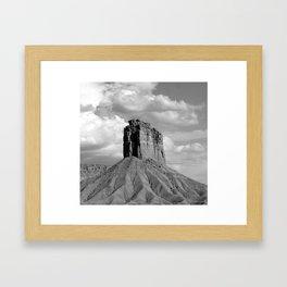 Lonely Rocks Framed Art Print