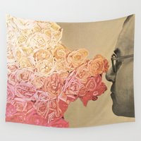 flora Wall Tapestries featuring Flora by onlyghosts