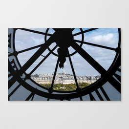 Paris from Musee d'Orsay Canvas Print