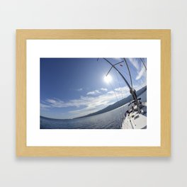 Aegean 2 Framed Art Print