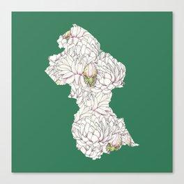 Guyana Canvas Print