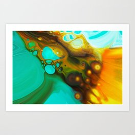 Acrylic 21 Art Print