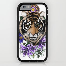 Tiger & Lily iPhone Case