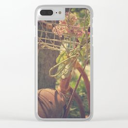 Ride Away With Me Clear iPhone Case