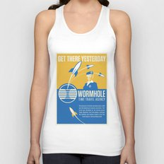 Time Travel Agency Unisex Tank Top