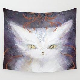 Zeus Cat : Majesty Wall Tapestry