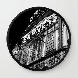 """EXPRESS"" Carnival Lights Wall Clock"