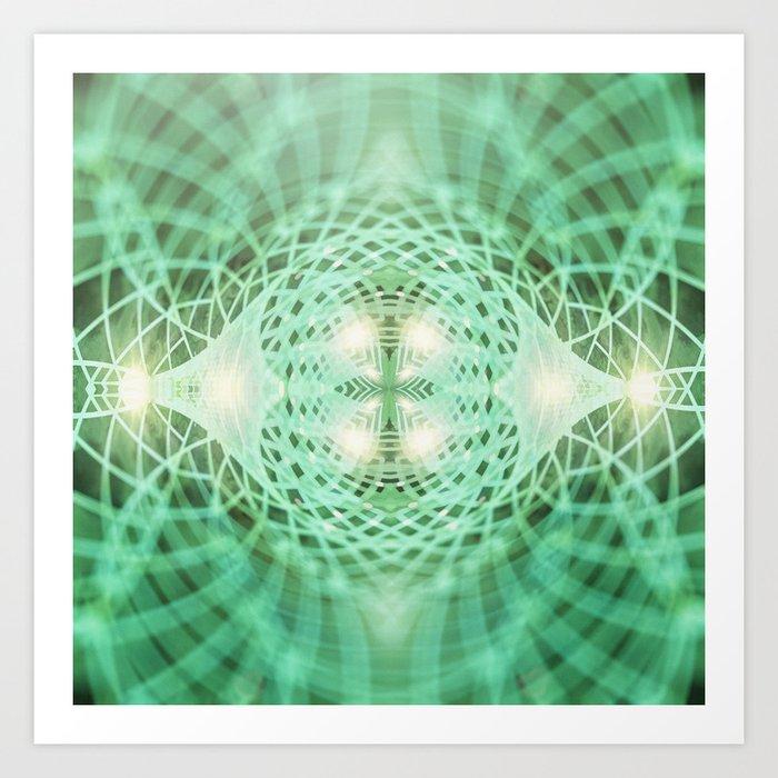 Geometry Dreams : Eternal Art Print
