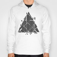 deadmau5 Hoodies featuring PLACE Triangle V2 by Sitchko Igor