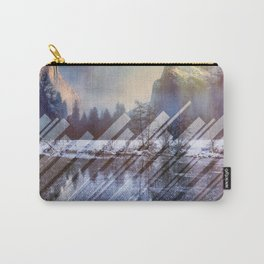 Winter Sun Rays Abstract Nature Carry-All Pouch