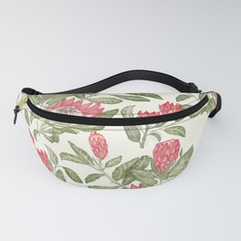 Protea Pattern Fanny Pack