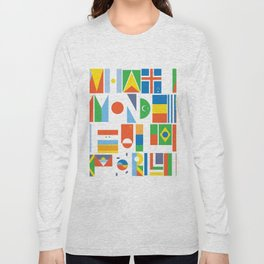 What A Wonderful World II Long Sleeve T-shirt