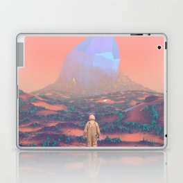 Lost Astronaut Series #02 - Giant Crystal Laptop & iPad Skin