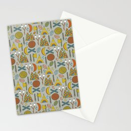 Out in the Woods Camping Stationery Cards