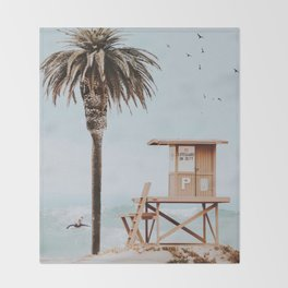 no lifeguard ii Throw Blanket