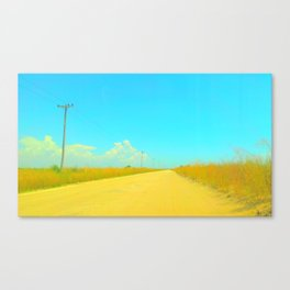 Open Road Canvas Print