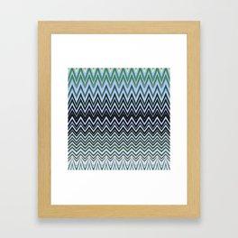 Coconut Palm Maldives Framed Art Print