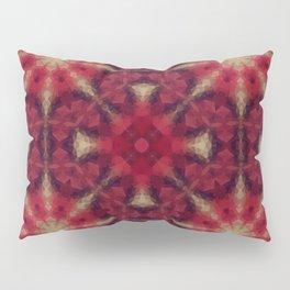 Kaleidoscope .The red morning. Pillow Sham