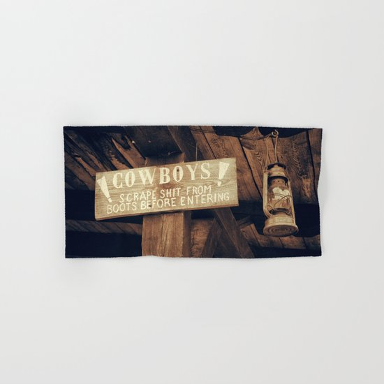 Wild West Hand & Bath Towel