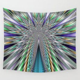Fractal Roadway Wall Tapestry