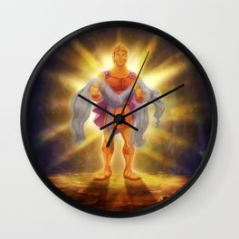 Hercules-A God Wall Clock