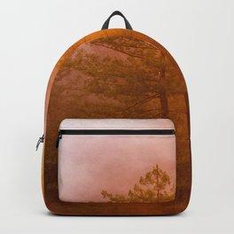 Golden Morning Glory Forest Backpack