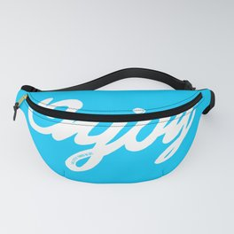 Enjoy the little things in life #eclecticart Fanny Pack
