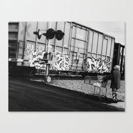 Vandalism 1 Canvas Print