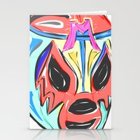 mexico Stationery Cards featuring MEXICO by MANDIATO ART & T-SHIRTS