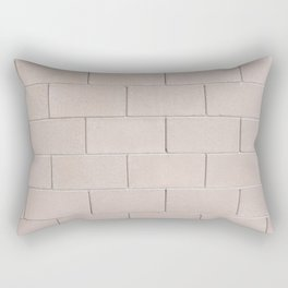 Brick Wall No. 3 Rectangular Pillow
