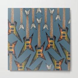 Electric Guitar 3 Metal Print