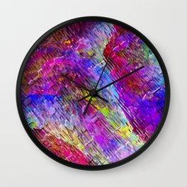 Abstract Water Lights Wall Clock