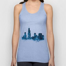 Chicago Skyline Unisex Tank Top