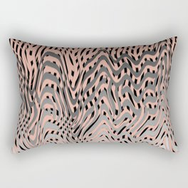 Electric Waves Rectangular Pillow