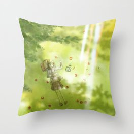 One Step More vol.3 Throw Pillow