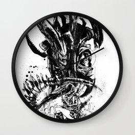 Intergalactic Evil Wall Clock