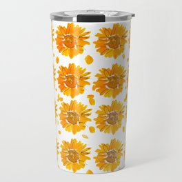 Fall Sunflowers Travel Mug