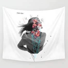 For Her Wall Tapestry