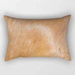 Horse Hide rustic decor Rectangular Pillow